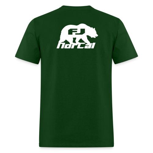 norcalfj beartextov - Men's T-Shirt