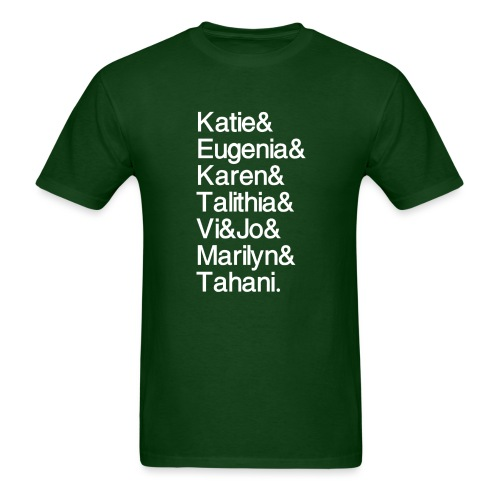 Math Gals 2019 w/ #MathGals hashtag - Men's T-Shirt
