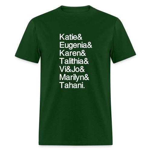 Math Gals 2019 w/ #MathGals hashtag - Men's T-Shirt
