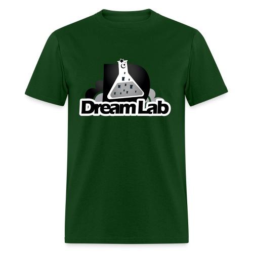 DreamLab Black/Gray - Men's T-Shirt