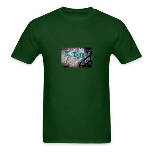 Grind For It Street Sign - Men's T-Shirt