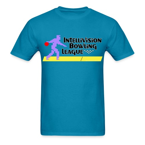 Intellivision Bowling League - Men's T-Shirt