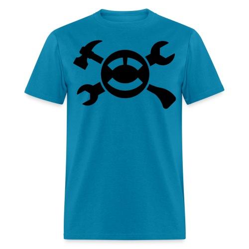 ABC Black Simple - Men's T-Shirt