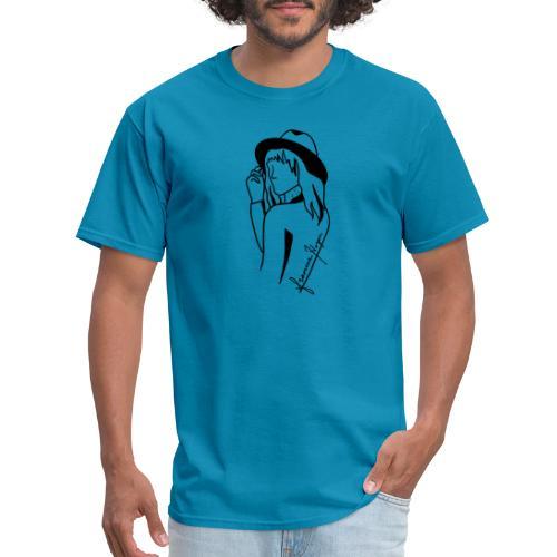 Minimal Black Line - Men's T-Shirt