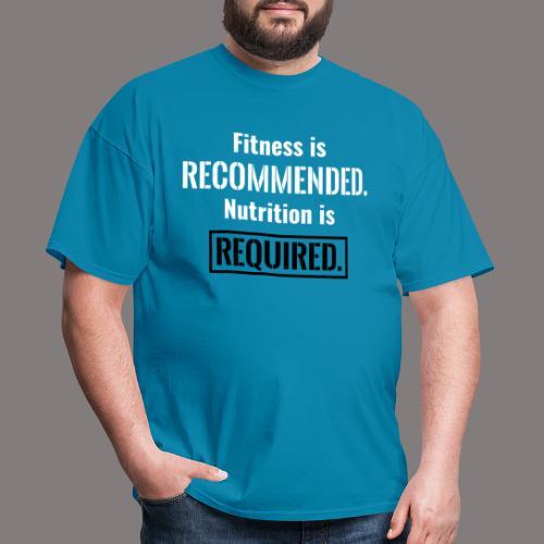 Mens_Nutrition_Black - Men's T-Shirt