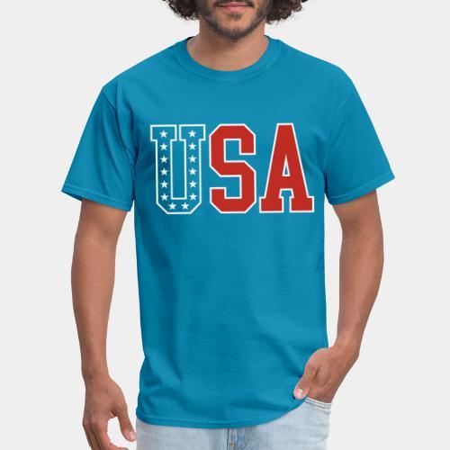 usa united states america - Men's T-Shirt