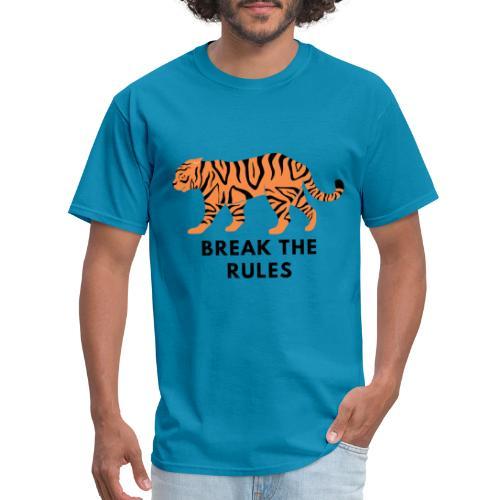 Tiger Print Unisex T-shirts and Hoodies - Men's T-Shirt