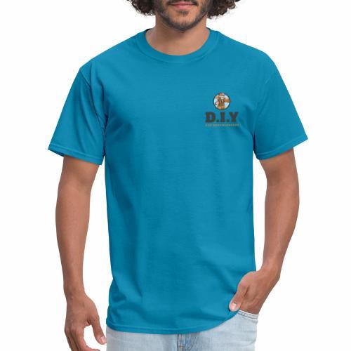 DIY For Knuckleheads Logo - Men's T-Shirt