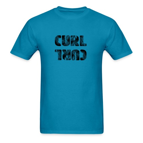 Curl Curl Black - Men's T-Shirt