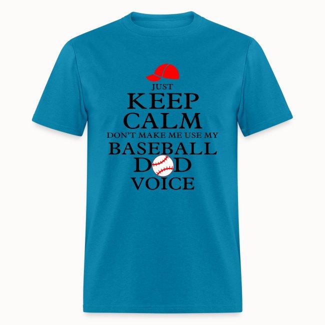 Keep Calm Baseball Dad