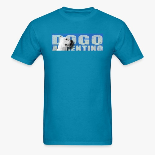 Dogo argentino. Dogo argentine, - Men's T-Shirt