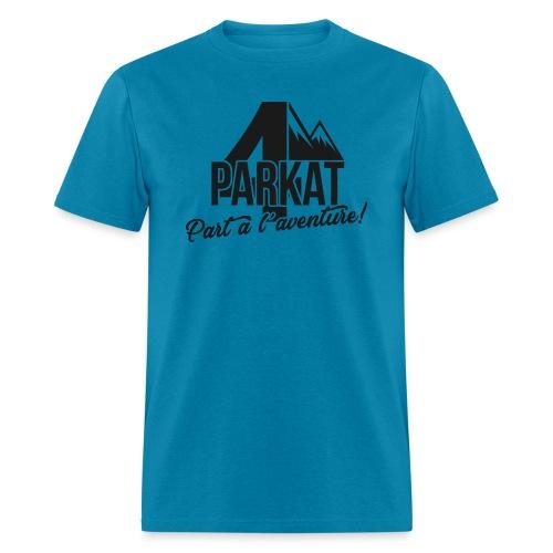 aventure noir png - Men's T-Shirt