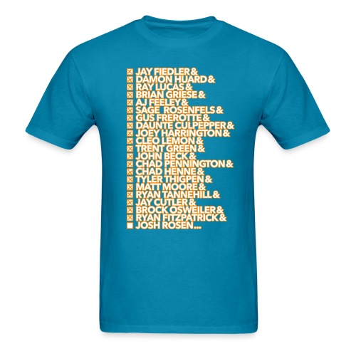 knowyourhistory-2019-rose - Men's T-Shirt