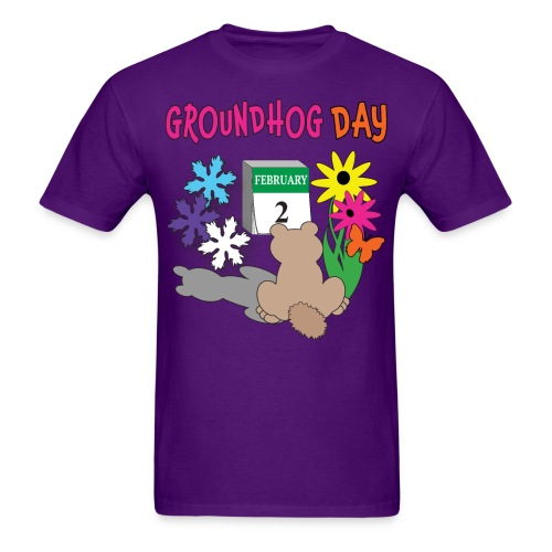 Groundhog Day Dilemma - Men's T-Shirt