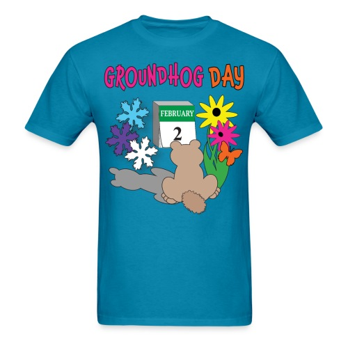 Groundhog Day Dilemma - Men's T-Shirt