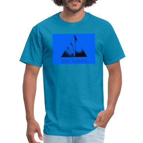 Light Blue Logo - Men's T-Shirt