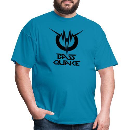 BASSQUAKE MONO LOGOTYPE BY FDS - Men's T-Shirt