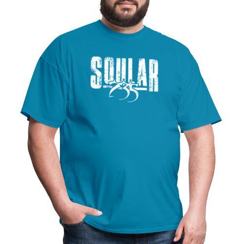 Soular235 White Logo - Men's T-Shirt