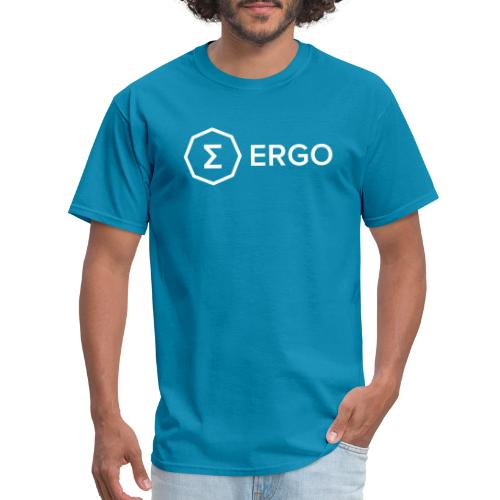 Ergo Symbol with Name - Men's T-Shirt