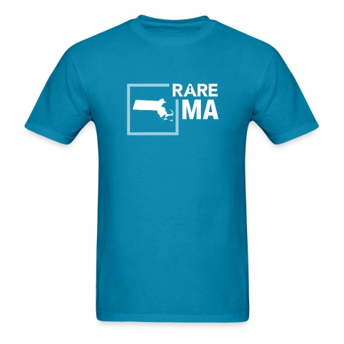 State Ambassador Logos WHITE MA - Men's T-Shirt