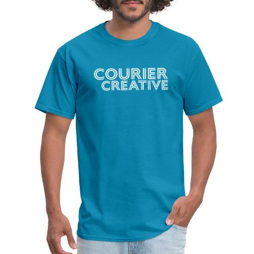 Courier Creative Logo - Men's T-Shirt