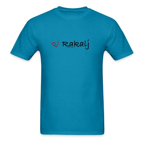 I love Rakalj - Men's T-Shirt