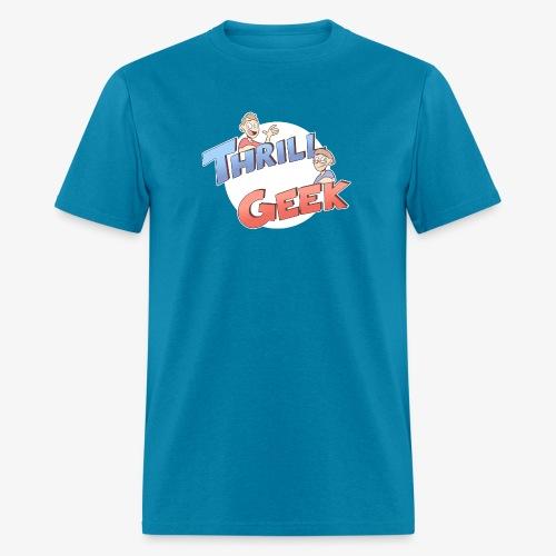 ThrillGeek Podcast Logo Shirt - Men's T-Shirt