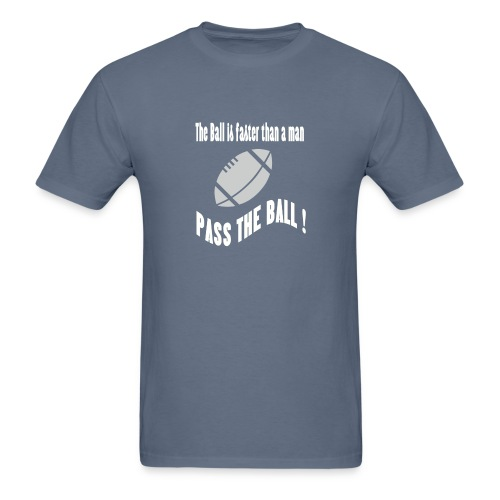 The_ball_is_faster - Men's T-Shirt