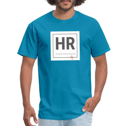 HR - HighRiskFashion Logo Shirt - Men's T-Shirt