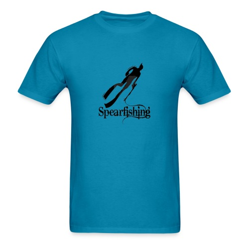 Spearfishing Design - Men's T-Shirt