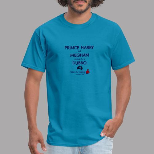 Prince Harry and Meghan Visit Dubbo - 17/10/2018 - Men's T-Shirt