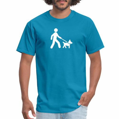 Walk the dog - Men's T-Shirt