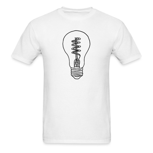 Vintage Light Bulb - Men's T-Shirt