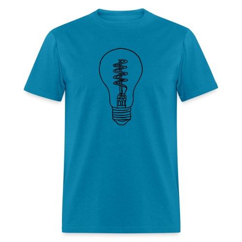 Vintage Light Bulb - Men's T-Shirt