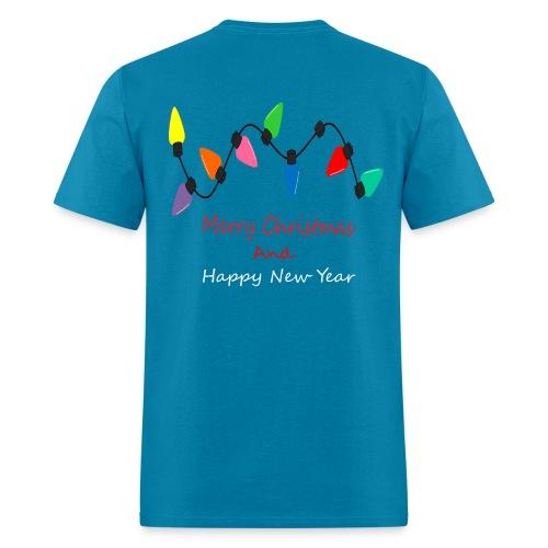 Lamp Of Merry Christmas - Men's T-Shirt
