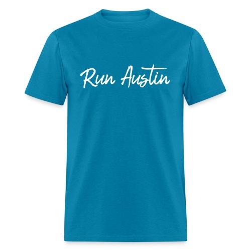 Run Austin Virtual Series - Men's T-Shirt