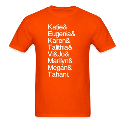 MathGals & Megan with hashtag - Men's T-Shirt