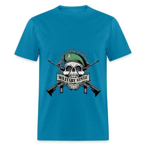 Militry Style - Men's T-Shirt