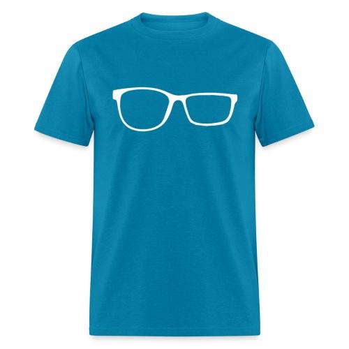 ZobGlasses White - Men's T-Shirt