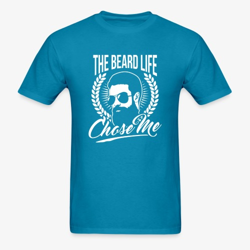 Beard Chose Me - Men's T-Shirt