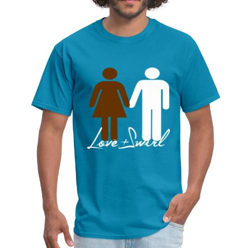 Love and Swirl - Men's T-Shirt
