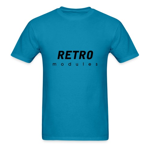 Retro Modules - sans frame - Men's T-Shirt