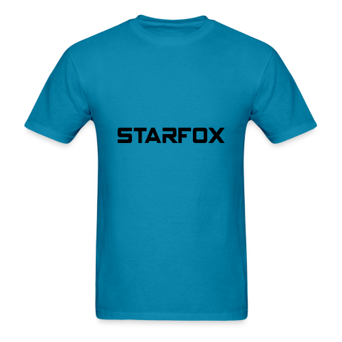 STARFOX Text - Men's T-Shirt