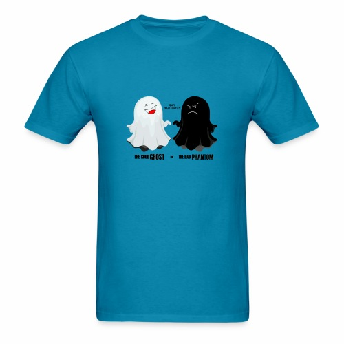 THE GOOD GHOST AND THE BAD PHANTOM - Men's T-Shirt