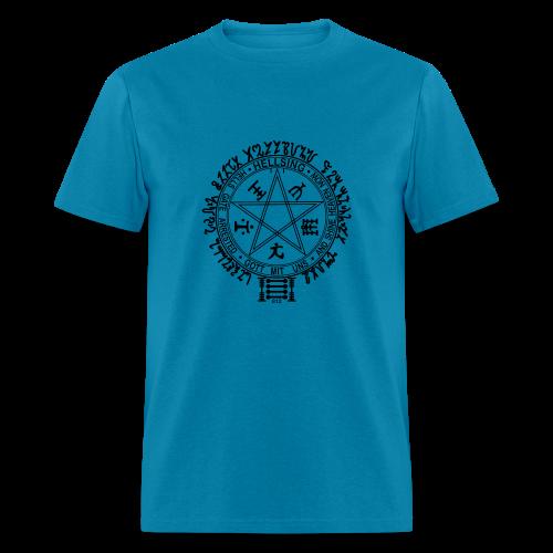 hellsing pentagram - Men's T-Shirt
