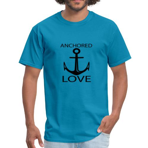 TSHIRTFINDERS -T-SHIRT ANCHOR LOVE - Men's T-Shirt