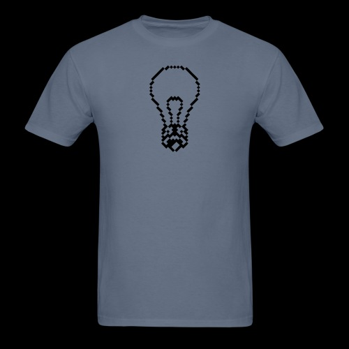 lightbulb by bmx3r - Men's T-Shirt
