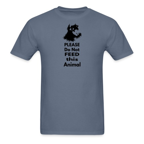 Please do not feed - Men's T-Shirt