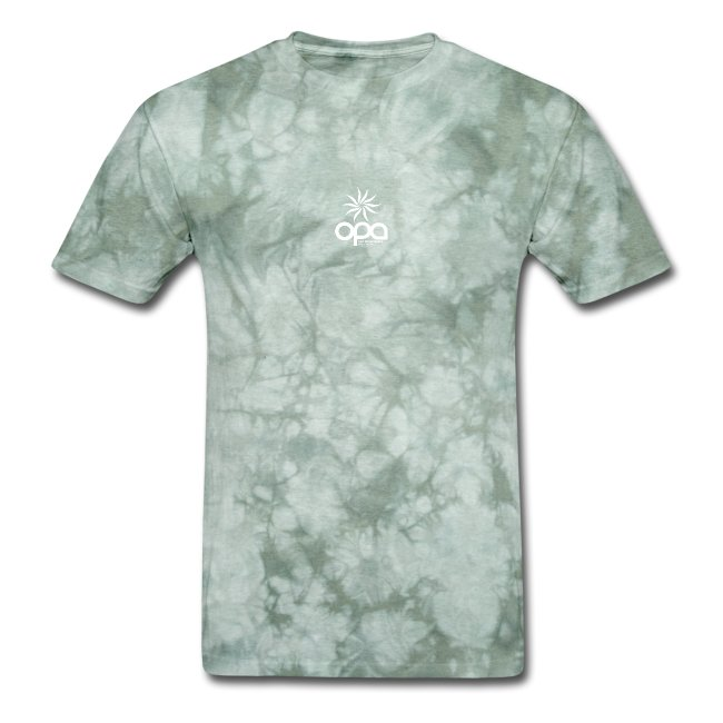 Short Sleeve T-Shirt with small all white OPA logo