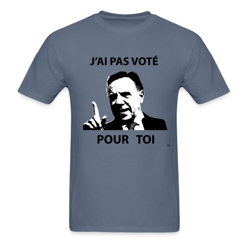 I did not vote for you - Men's T-Shirt